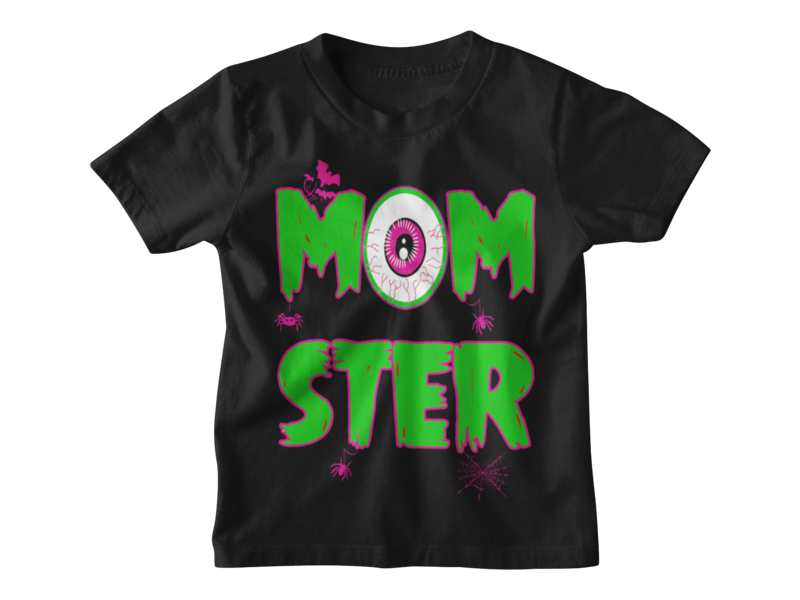 MOMSTER T-SHIRT KIDS