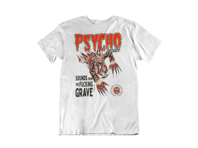 PSYCHO INSIDE T-SHIRT FOR MEN BY NANO BARBERO