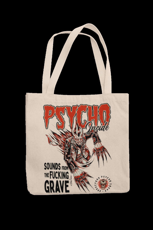 Cotton Bag Psycho Inside design by PASKAL 2019
