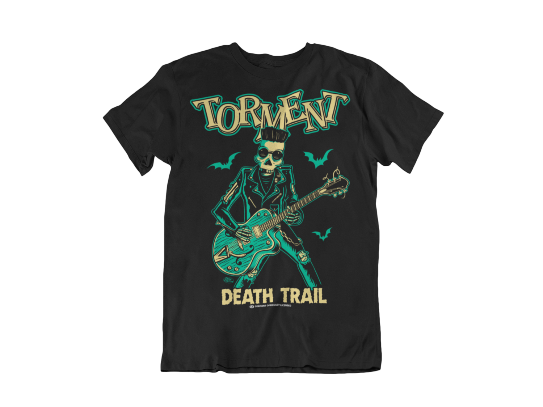 "TORMENT ""Dead trail""  tshirt for MEN"