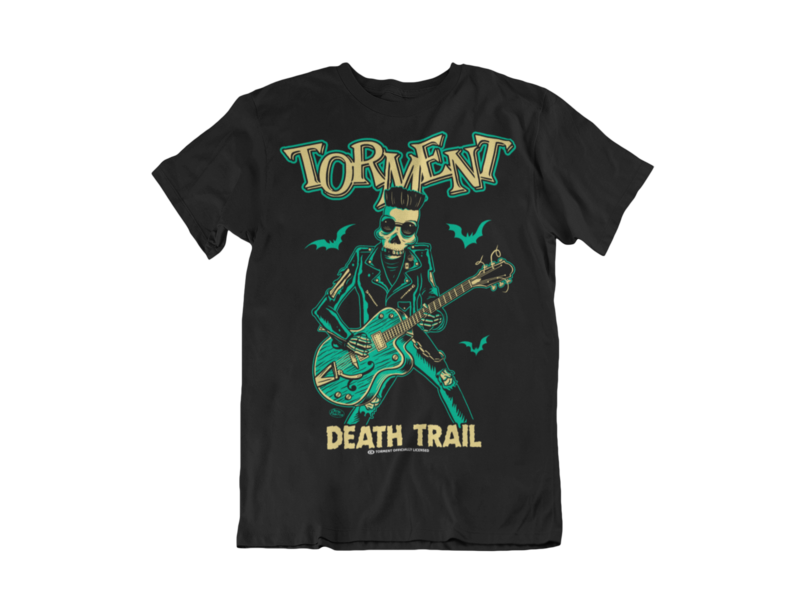 "TORMENT ""Dead trail""  tshirt for MEN"