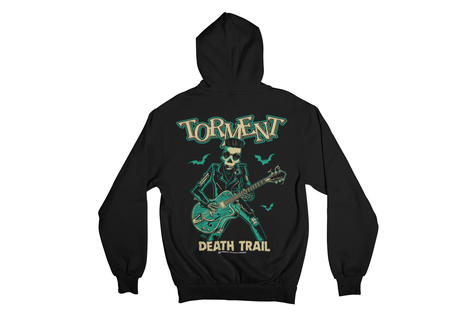 """TORMENT """"DEATH TRAIL"""" HOODIE ZIP for WOMEN"""