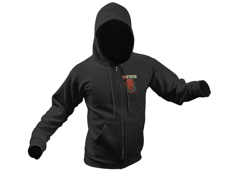 HELLKENSTEIN HOODIE ZIP for WOMEN by NANO BARBERO