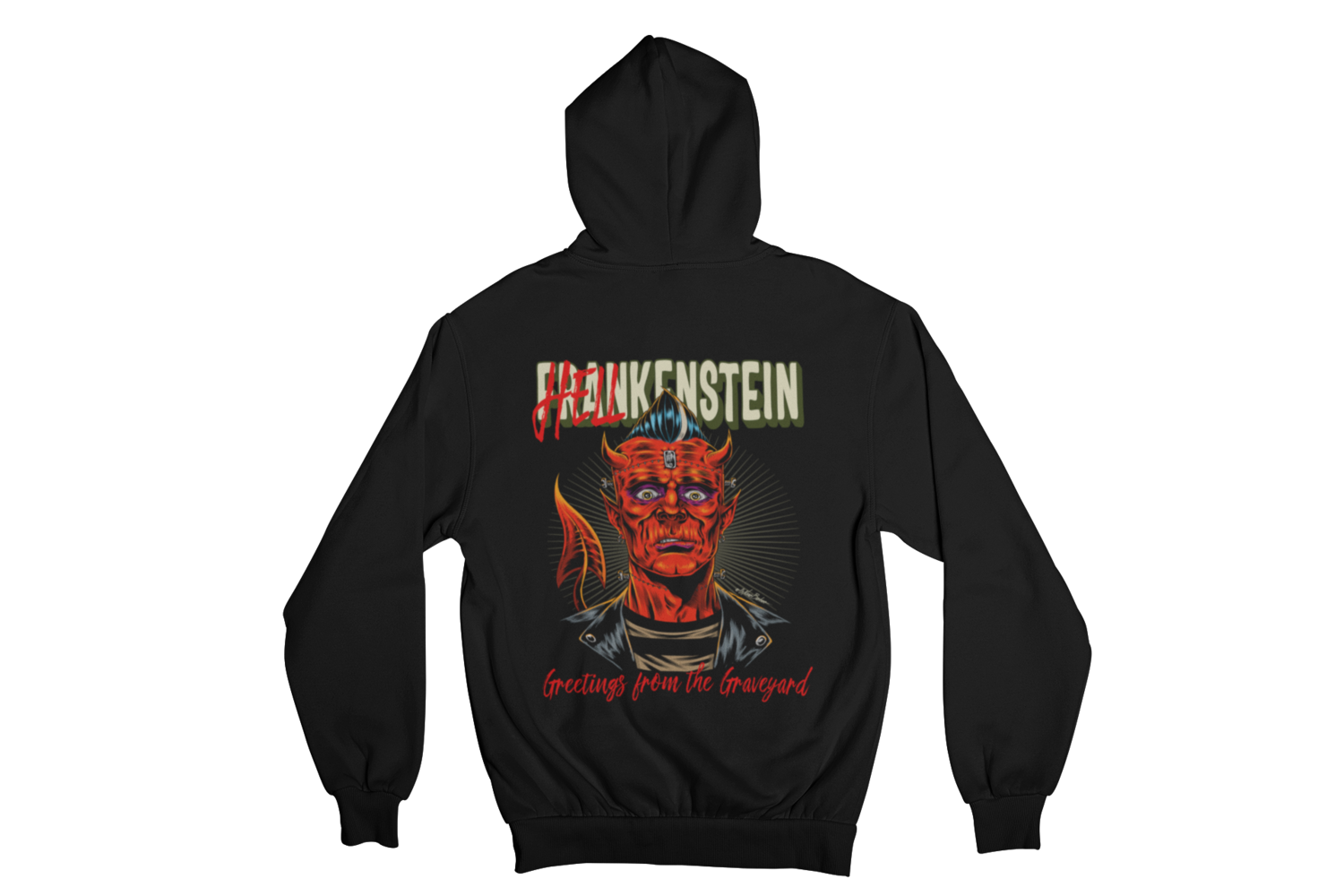 HELLKENSTEIN HOODIE ZIP for MEN by NANO BARBERO