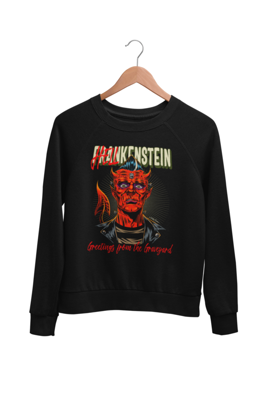 HELLKENSTEIN SWEATSHIRT UNISEX BY NANO BARBERO