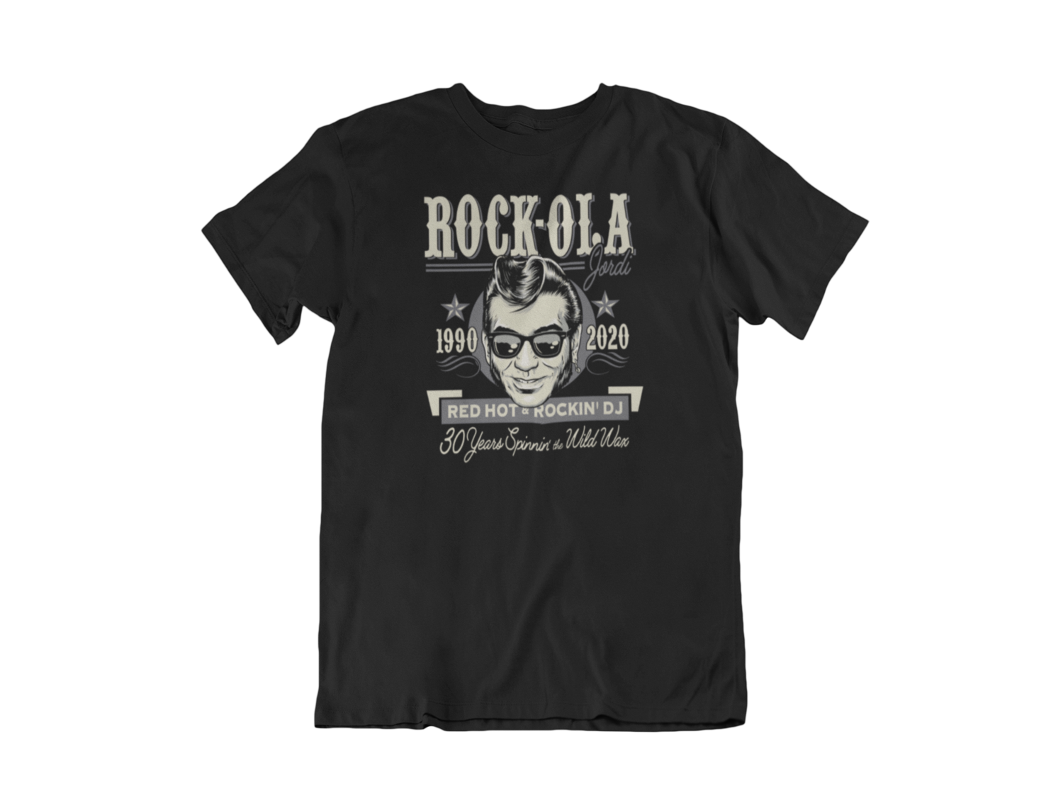 Rock-ola Jordi Dj tshirt for MEN