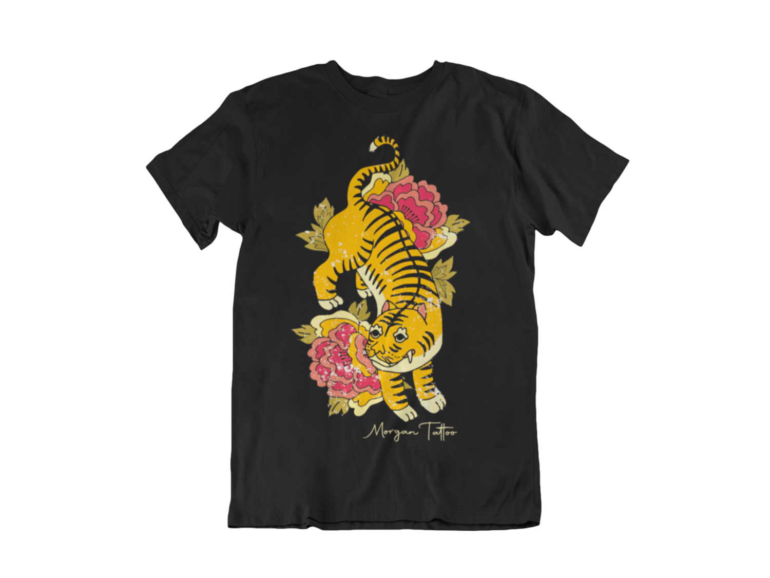 "Morgan Tattoo ""Tiger"" T-SHIRT MAN"