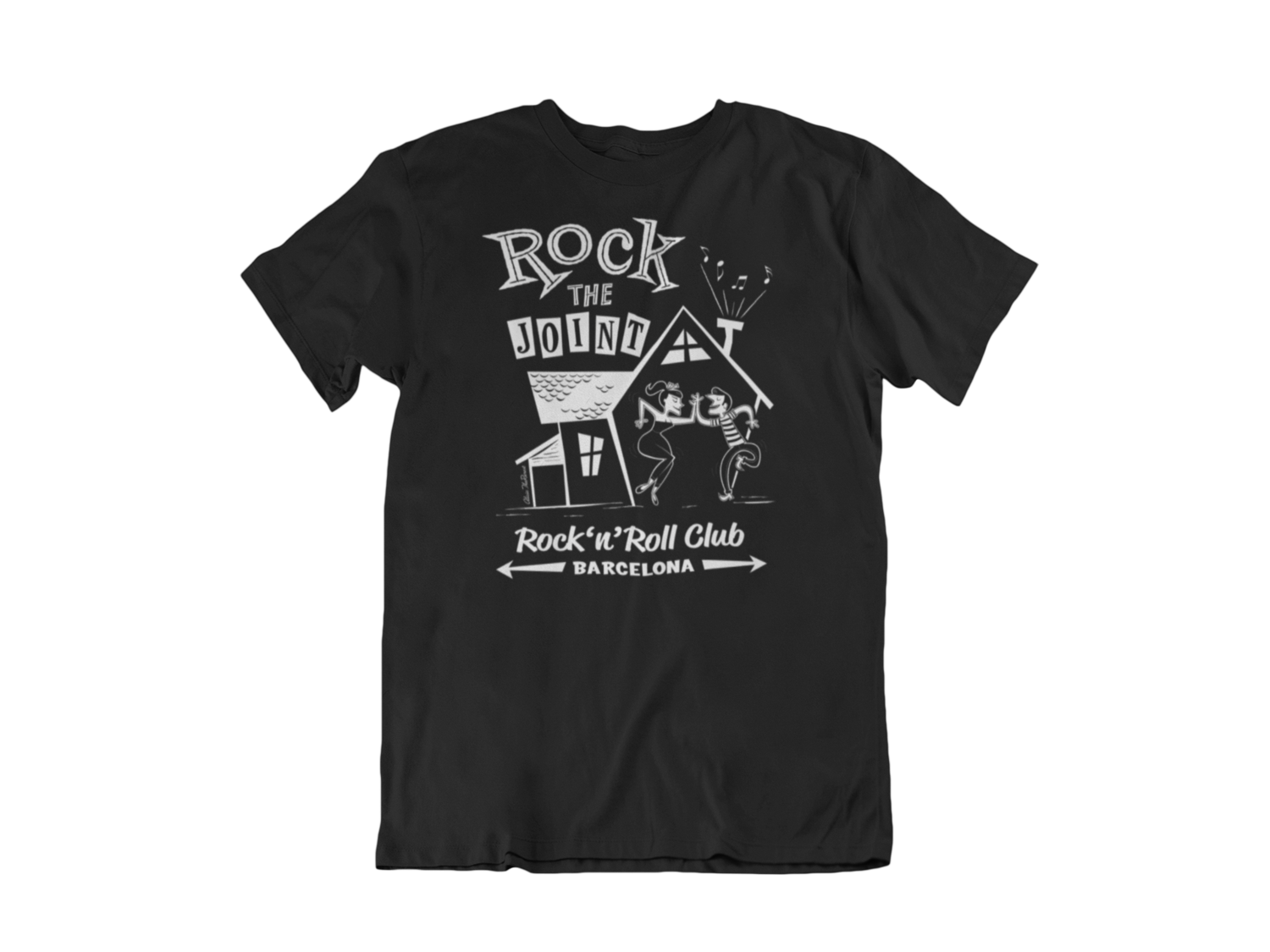Rock The Joint Club tshirt for MEN