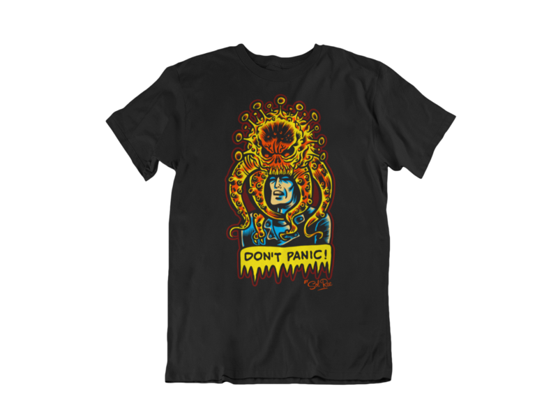 DON´T PANIC T-SHIRT MAN BY SOL RAC