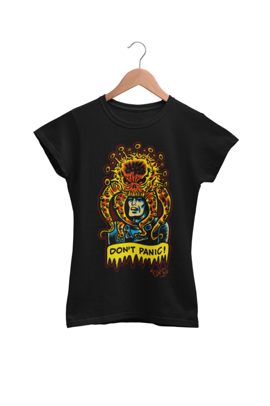 DON´T PANIC T-SHIRT WOMAN by SOL RAC