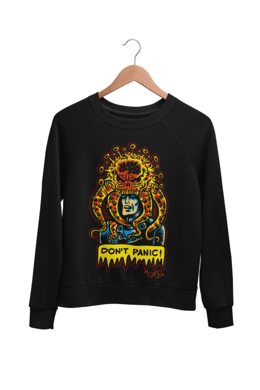 DON´T PANIC SWEATSHIRT UNISEX by BY SOL RAC