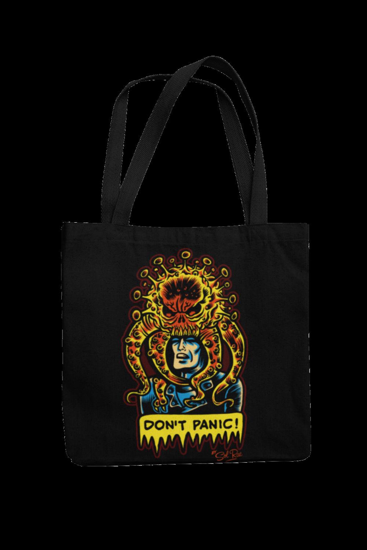 DON´T PANIC Cotton Bag  logo design SOL RAC