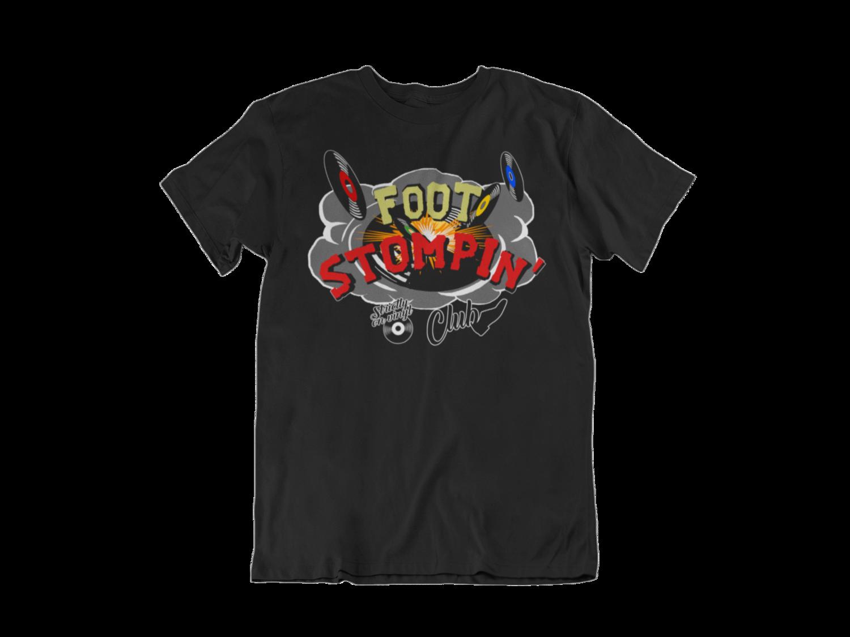 FOOT STOMPIN´ CLUB  tshirt for MEN