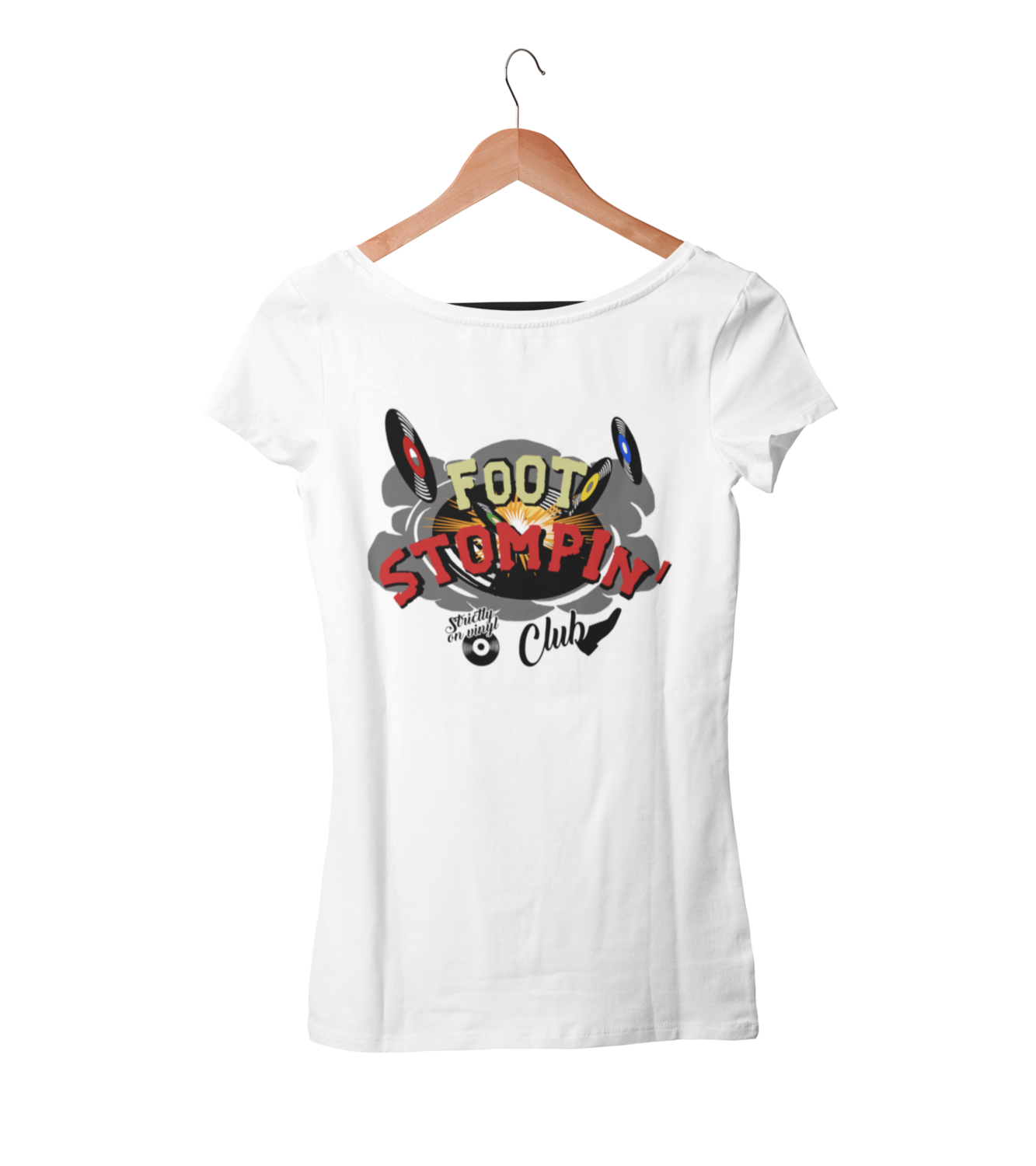 FOOT STOMPIN´ CLUB tshirt for WOMEN