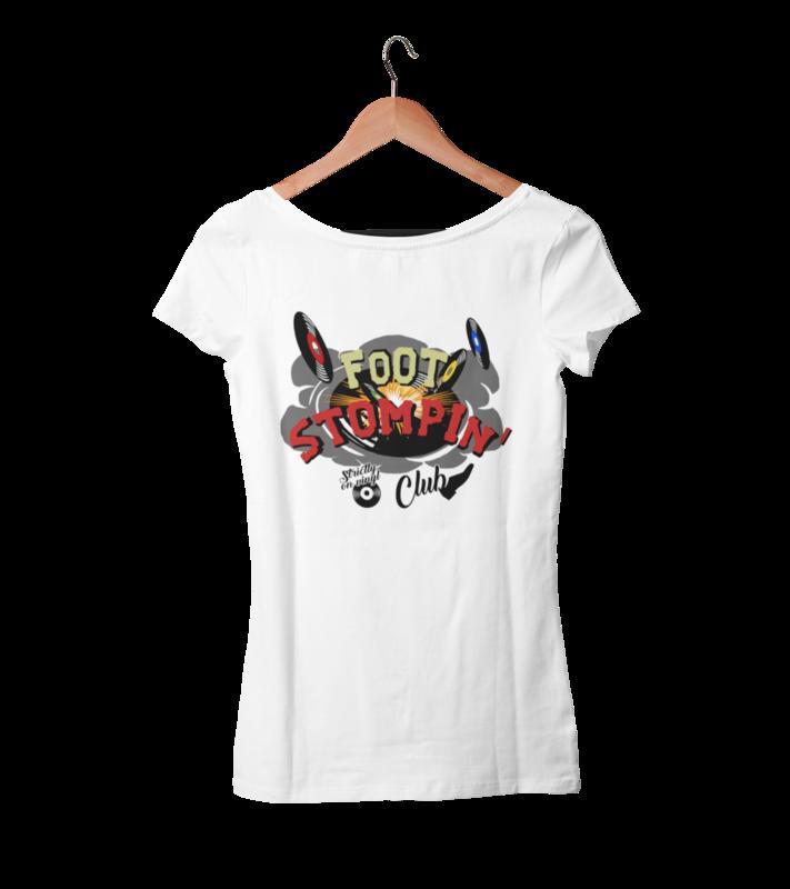 FOOT STOMPIN´ CLUB tshirt for WOMEN