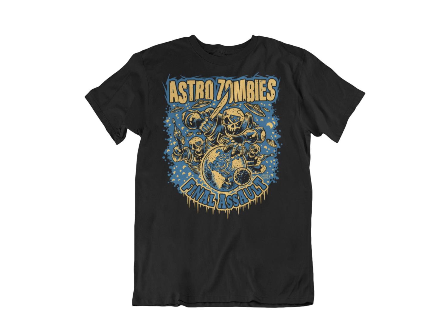 "ASTRO ZOMBIES ""Final Assault"" tshirt for MEN"