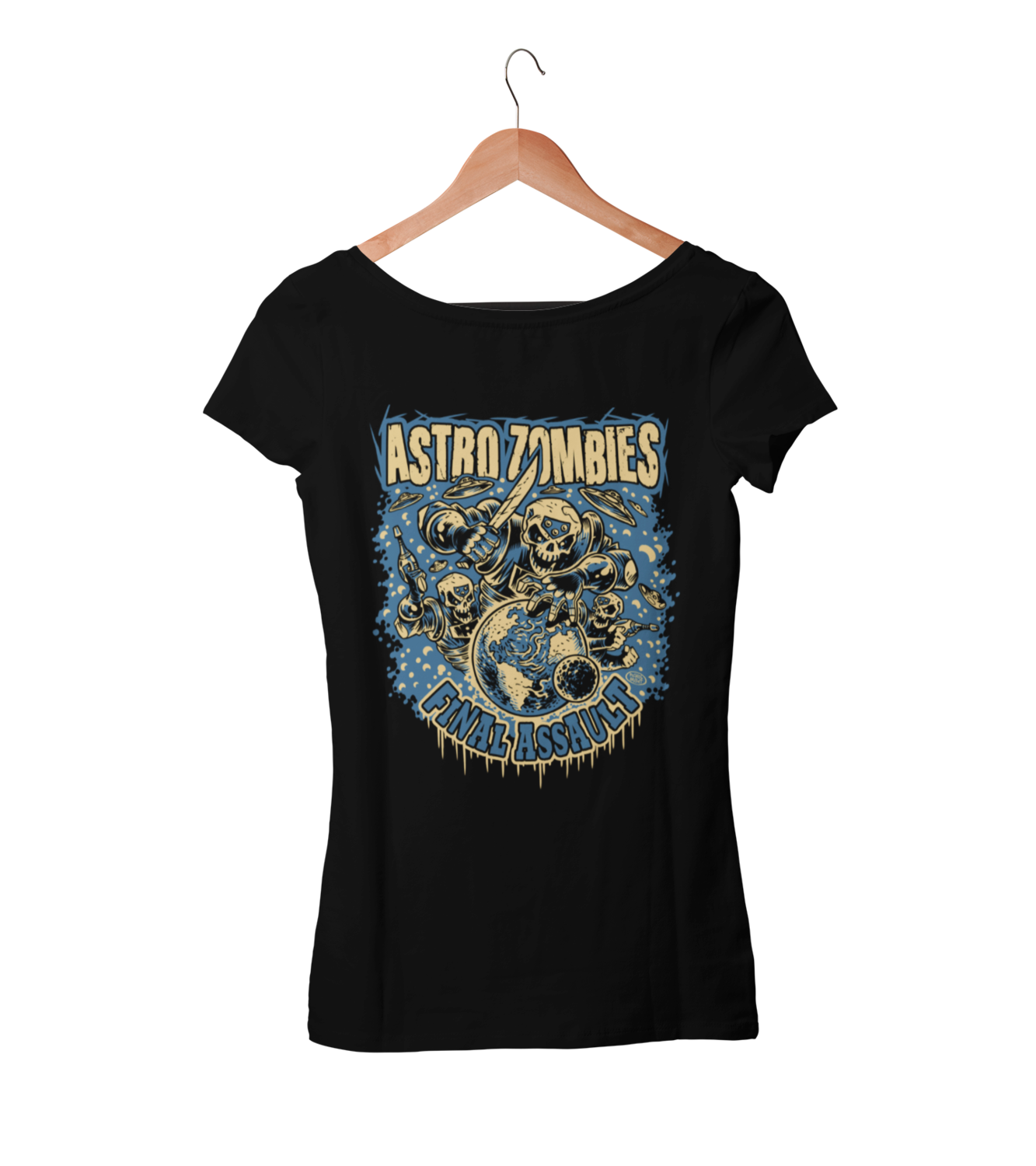 "ASTRO ZOMBIES ""Final Assault""  tshirt for WOMEN"