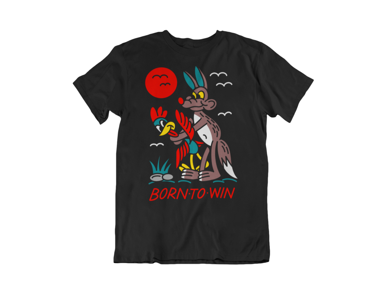 "NORTEONE TATTOO ""Born to win"" tshirt for MEN"