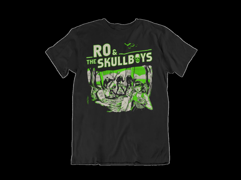 RO & THE SKULLBOYS  T-SHIRT MEN