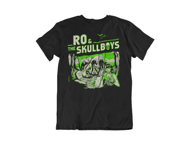 RO & THE SKULLBOYS  T-SHIRT MEN