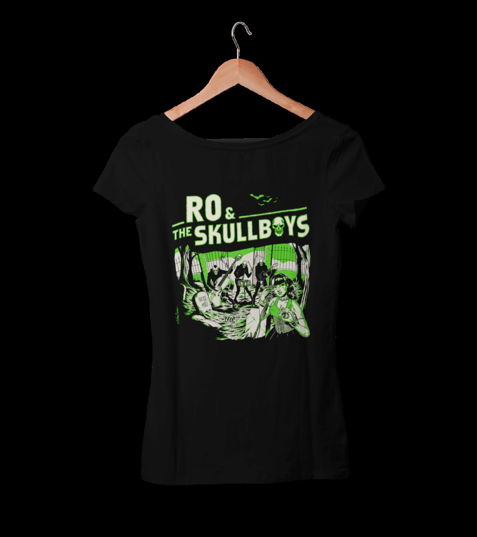 RO & THE SKULLBOYS T-SHIRT WOMEN