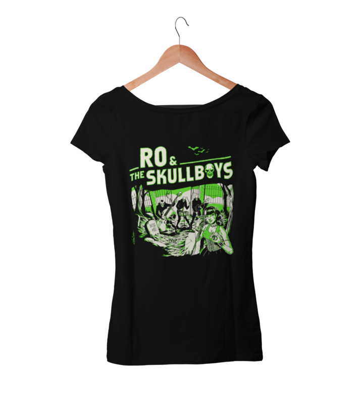 RO & THE SKULLBOYS T-SHIRT WOMEN