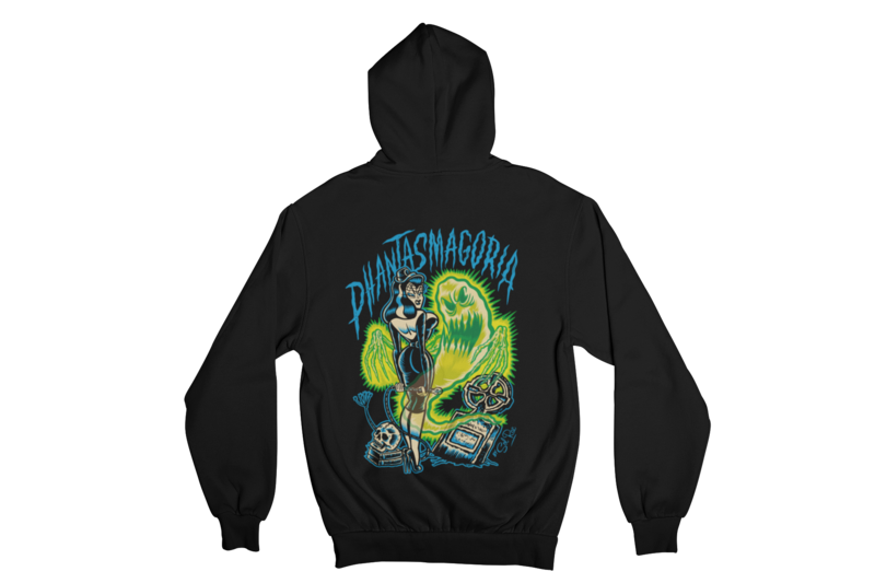 PHANTASMAGORIA HOODIE ZIP for MEN by SOL RAC