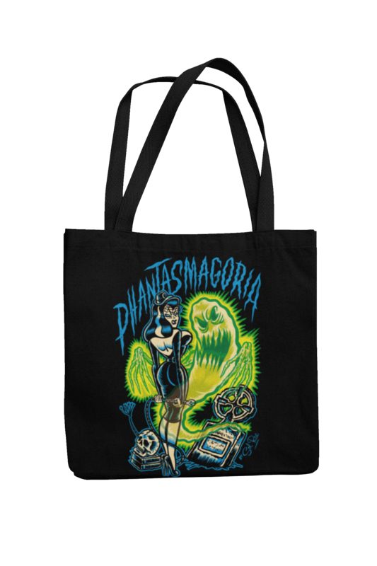 PHANTASMAGORIA Cotton Bag  logo design SOL RAC