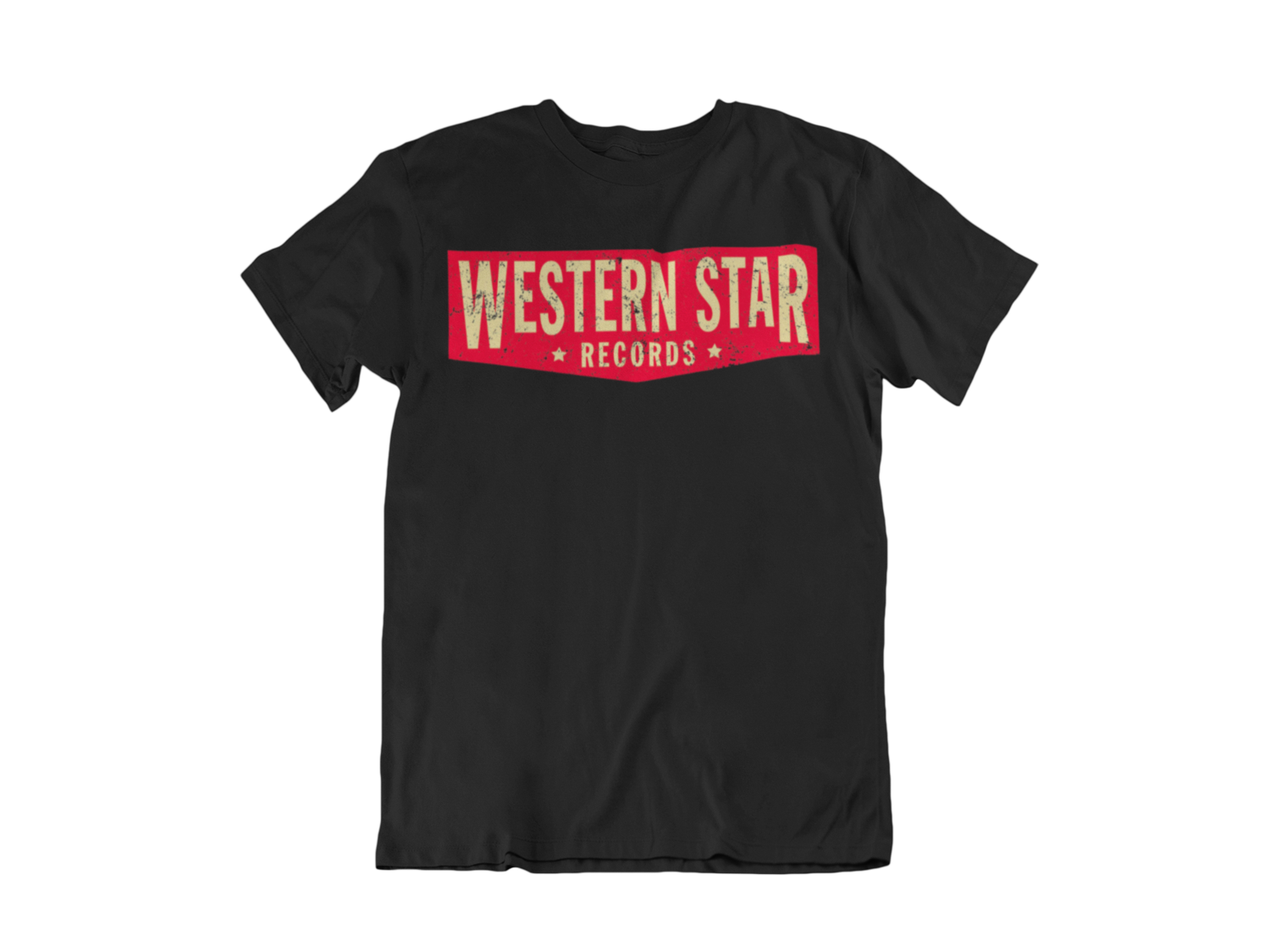 "Western Star Recording Company ""Logo""  tshirt for MEN"