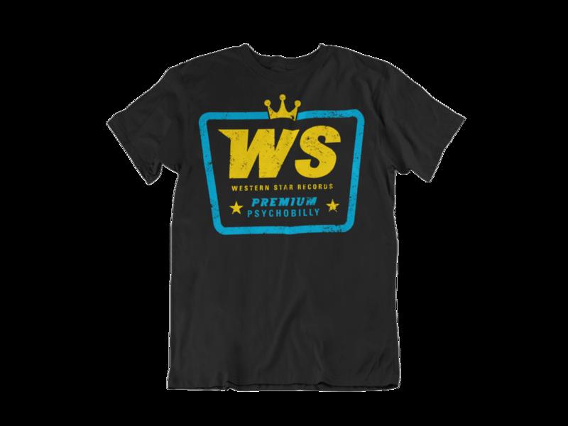 "Western Star Recording Company ""Premium Psychobilly""  tshirt for MEN"