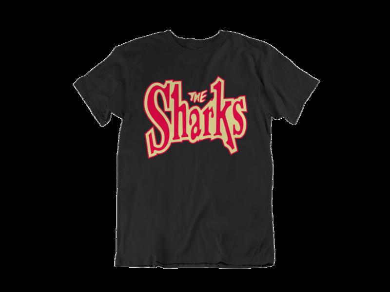 """THE SHARKS """"Logo"""" tshirt for MEN"""