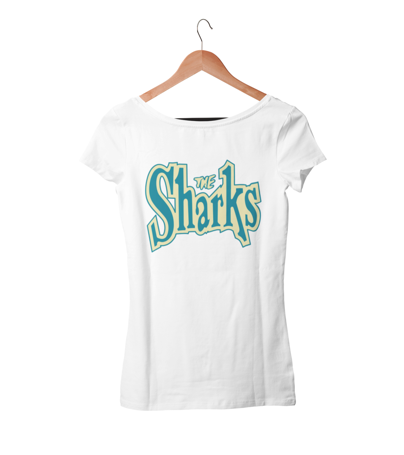 "THE SHARKS ""Logo"" tshirt for WOMEN"