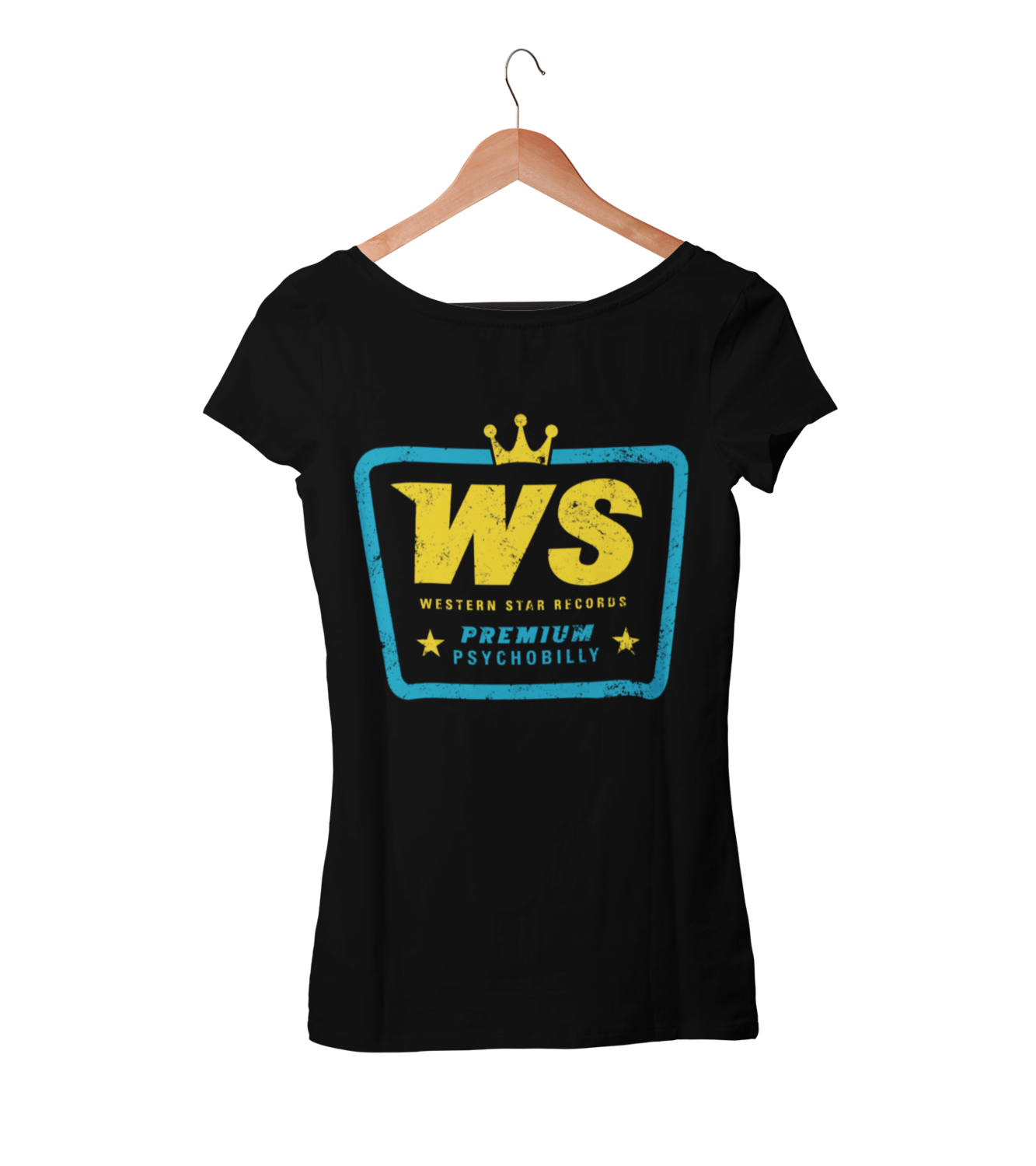 "Western Star Recording Company ""Premium Psychobilly""   T-SHIRT WOMAN"