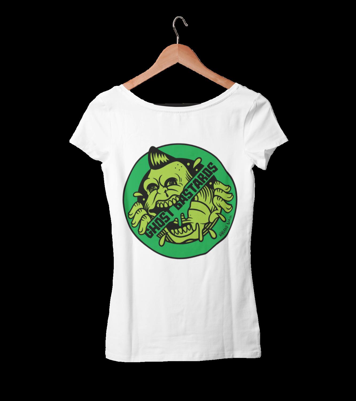 """GHOST BASTARDS """"Round Logo"""" tshirt for WOMEN"""