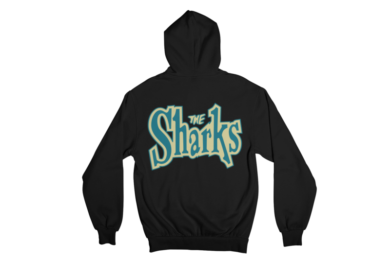 "THE SHARKS ""LOGO"" HOODIE ZIP for WOMEN"
