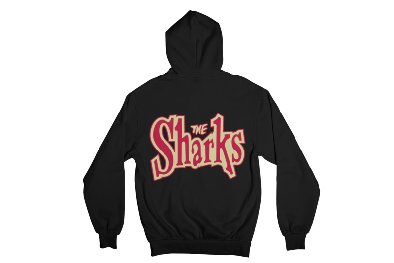 "THE SHARKS  ""LOGO"" HOODIE ZIP for MEN"