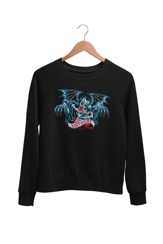 LUST FOR LIFE SWEATSHIRT UNISEX by BY SOL RAC