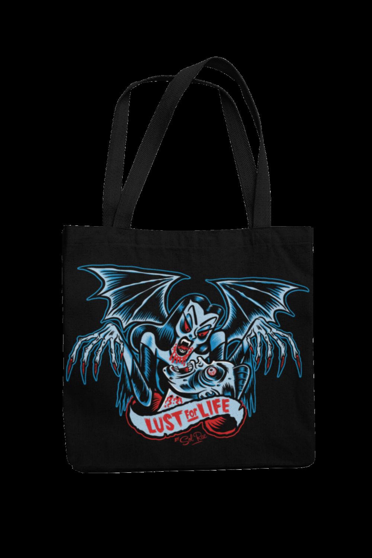 LUST FOR LIFE Cotton Bag  logo design SOL RAC