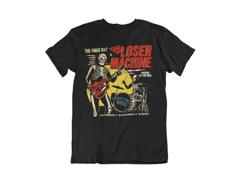 VINCE RAY LOSER MACHINE tshirt for MEN