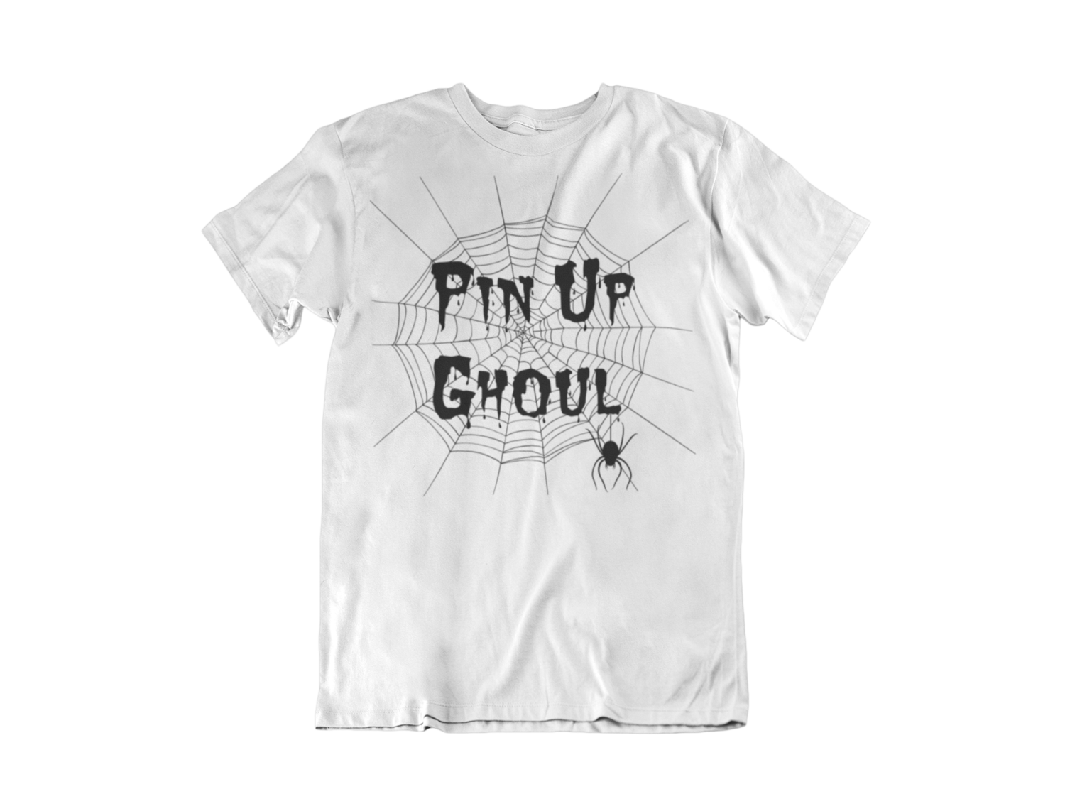 """BETTIE BANG STORE """"Pin up Ghoul"""" tshirt for MEN"""
