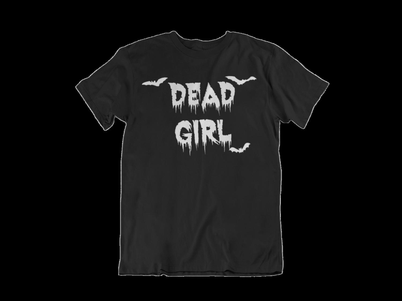 """BETTIE BANG STORE """"Dead Girl"""" tshirt for MEN"""