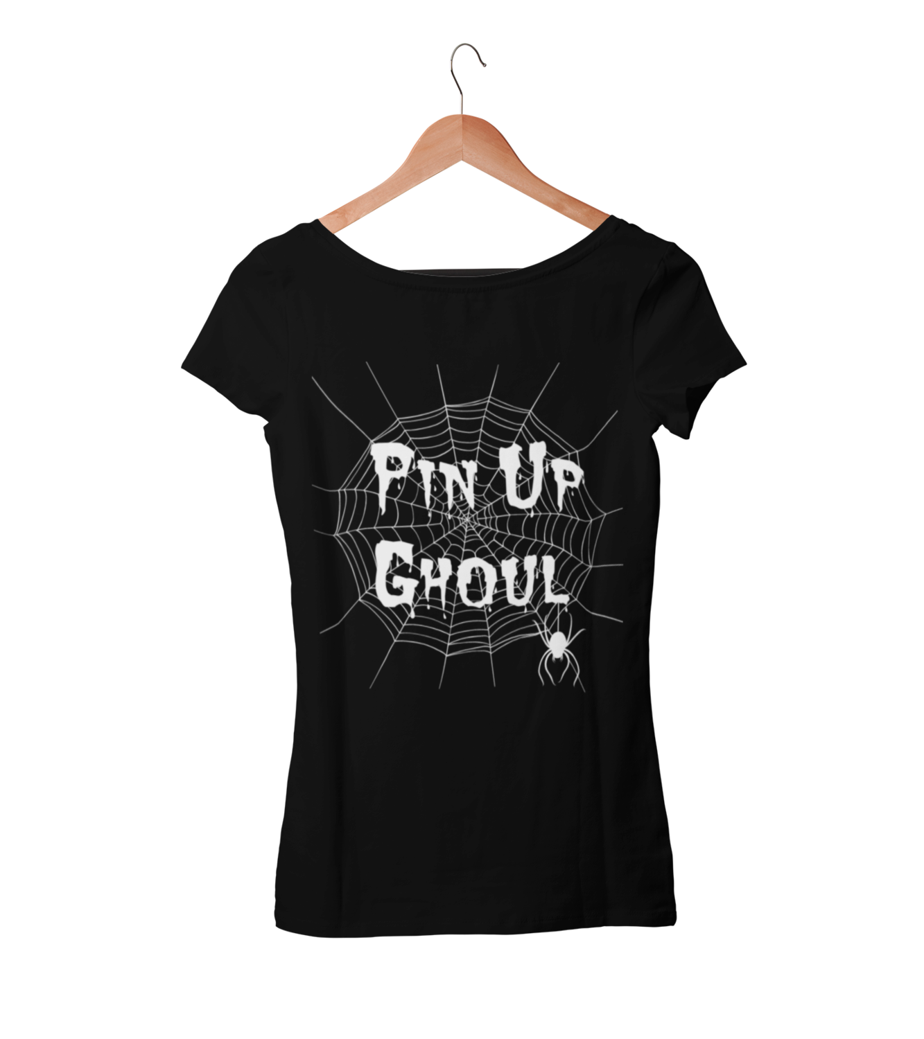 "BETTIE BANG STORE ""Pin up Ghoul"" tshirt for WOMEN"