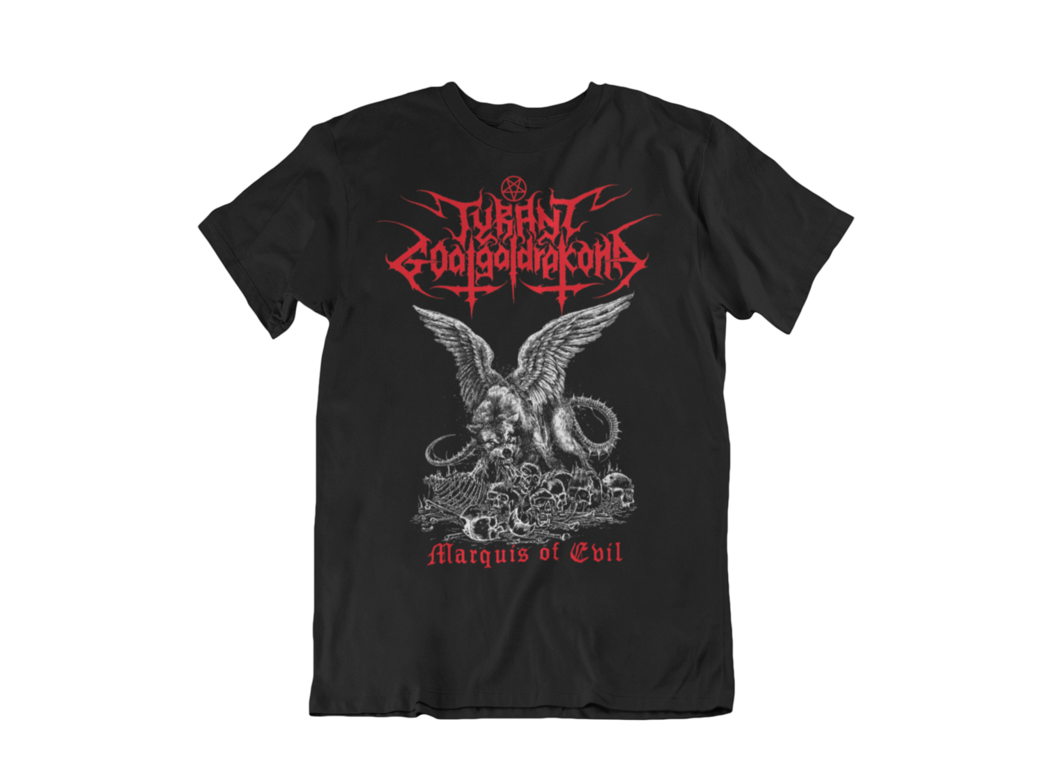 TYRANT GOATGALDRAKONA T-SHIRT MAN BLOOD HARVEST RECORDS
