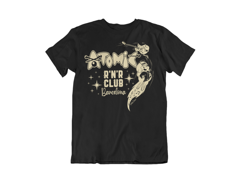 ATOMIC R´N´R CLUB BARCELONA T-SHIRT MAN