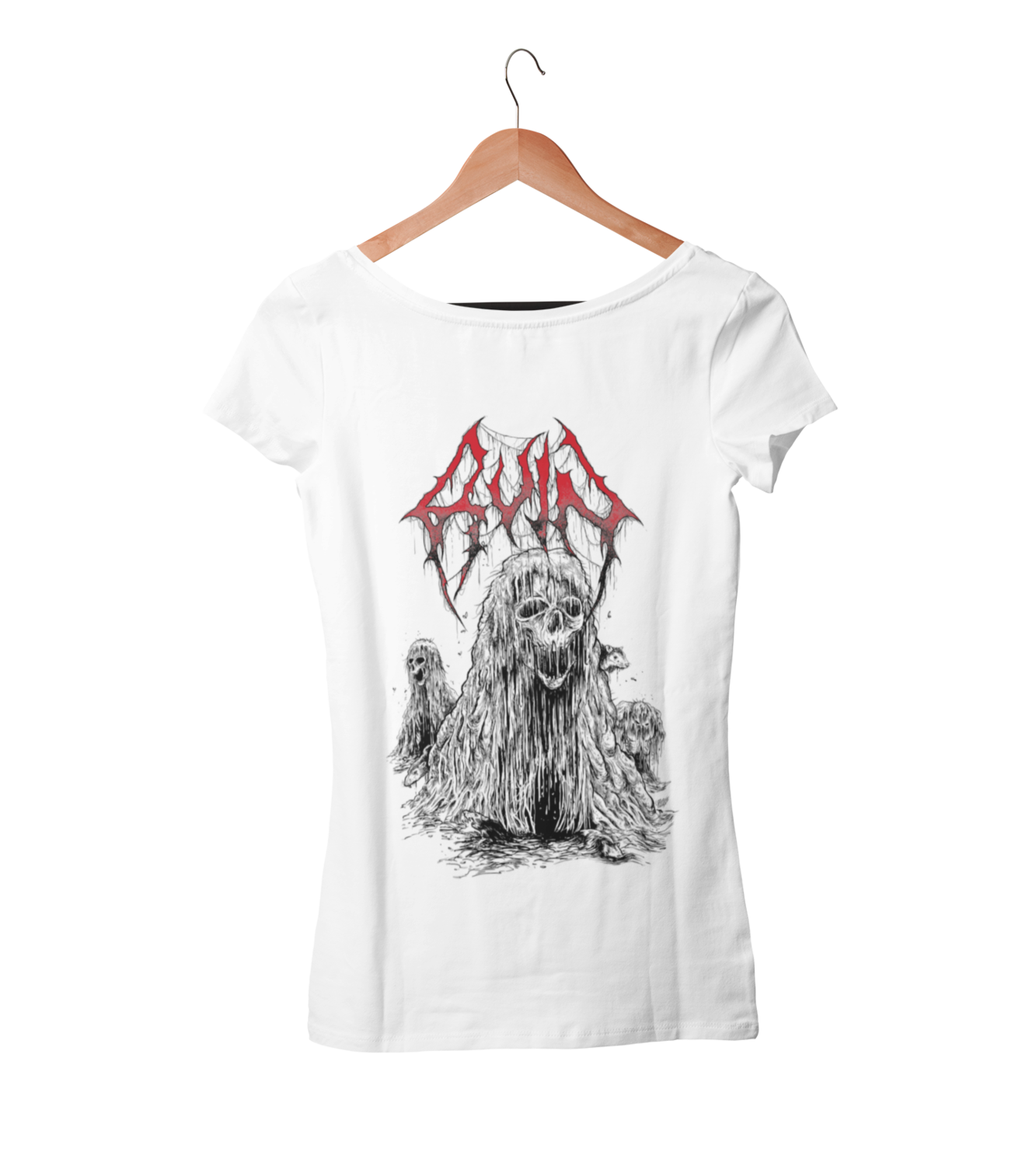 RUIN T-SHIRT WOMAN BLOOD HARVEST RECORDS