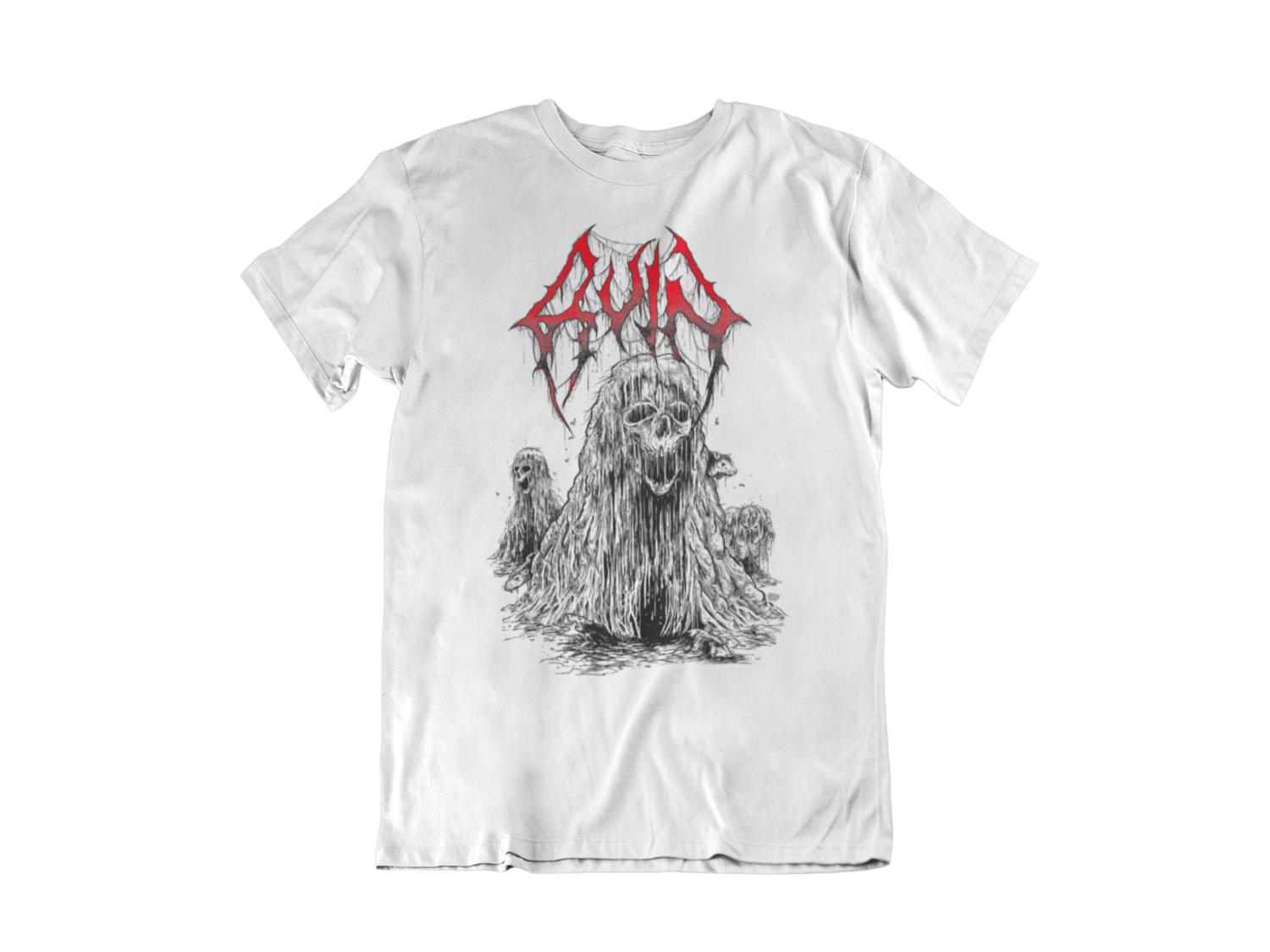 RUIN T-SHIRT MAN BLOOD HARVEST RECORDS