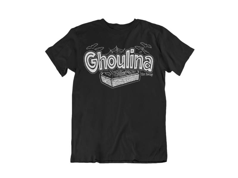 GHOULINA by MISS MOONAGE tshirt for MEN