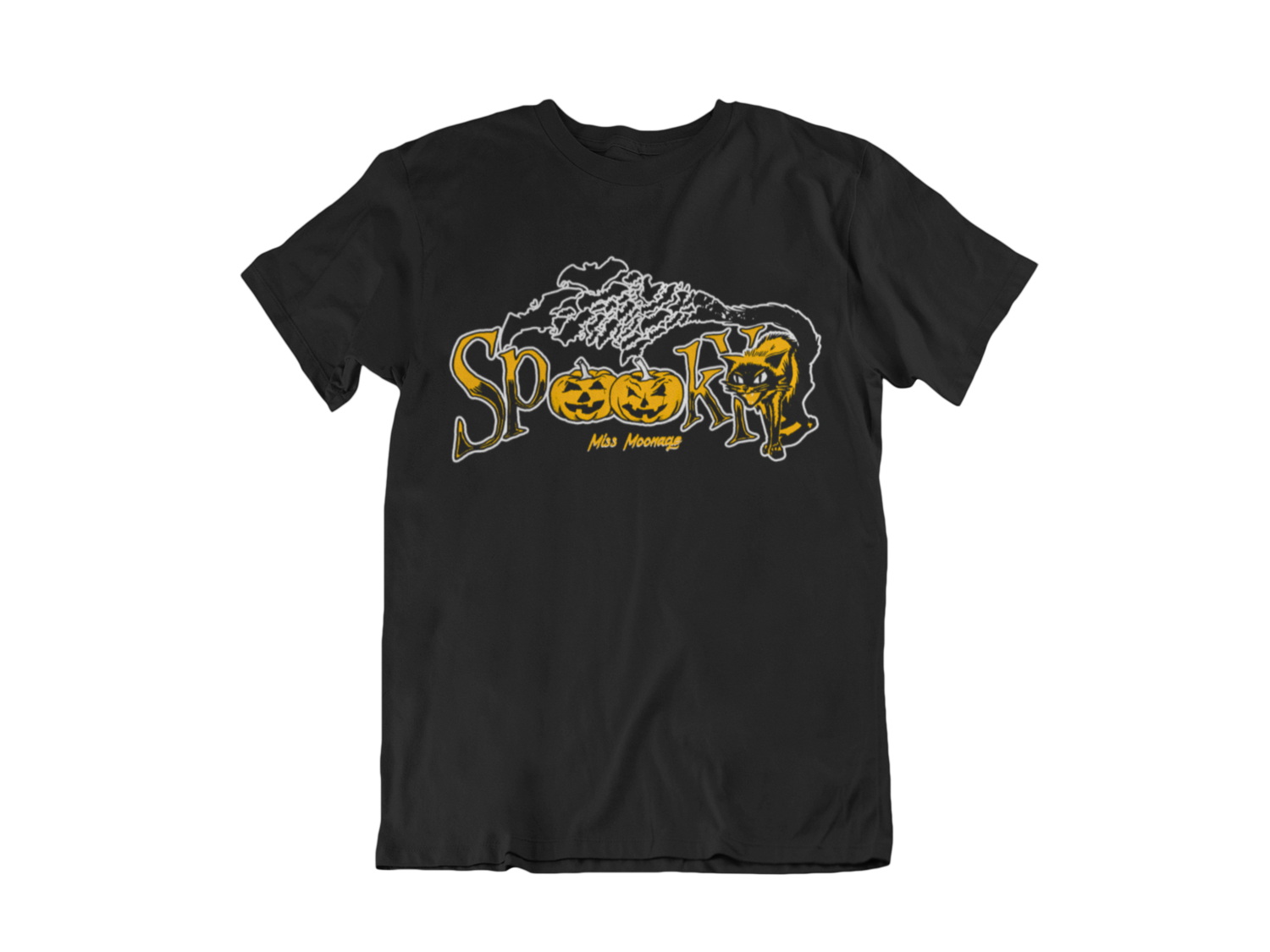 SPOOKY by MISS MOONAGE tshirt for MEN