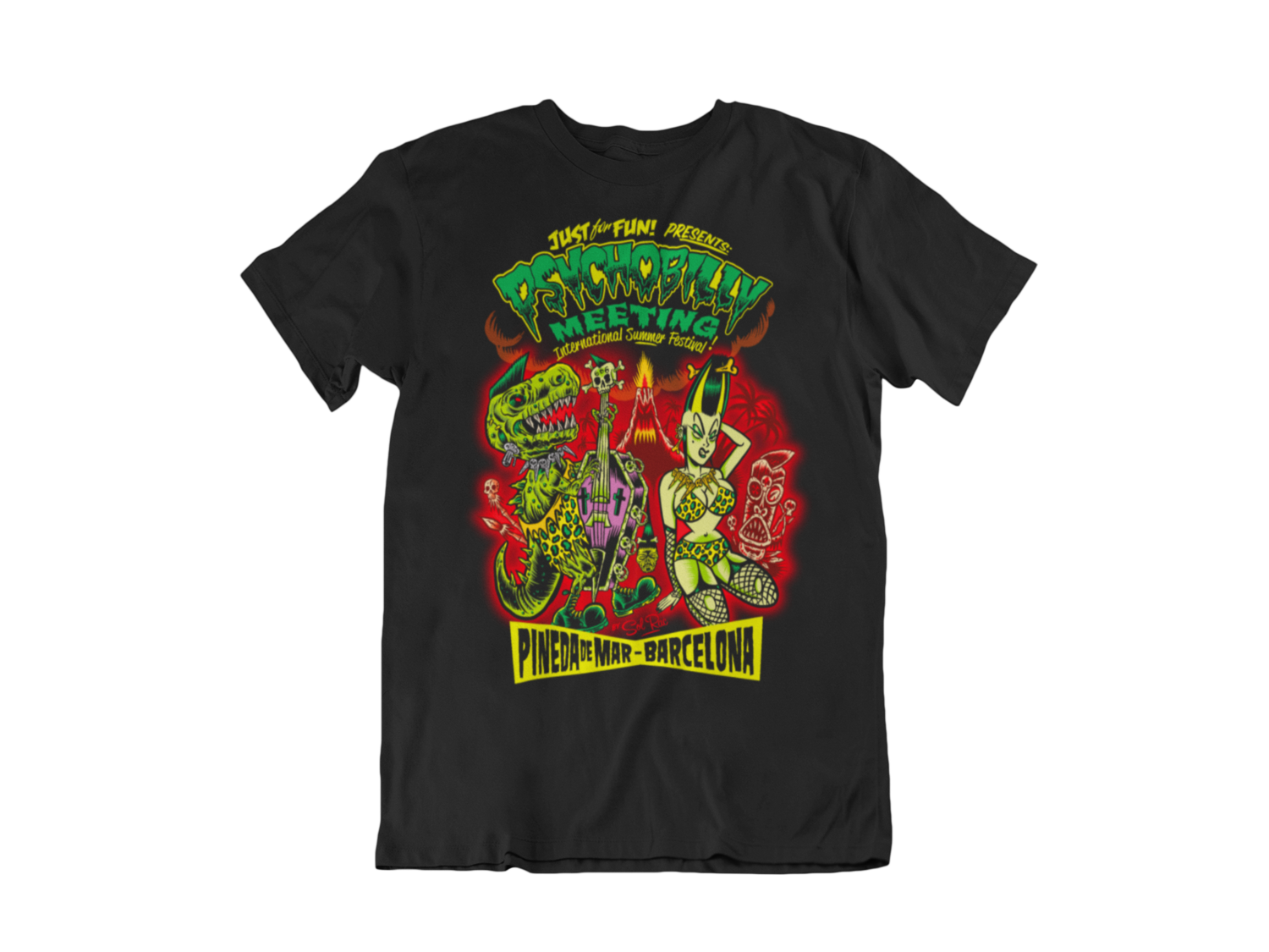 PSYCHOBILLY MEETING 2020 T-SHIRT MAN BY SOLRAC