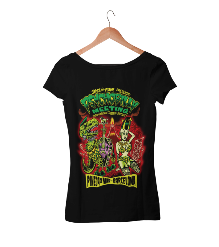 PSYCHOBILLY MEETING 2020 T-SHIRT WOMAN BY SOLRAC